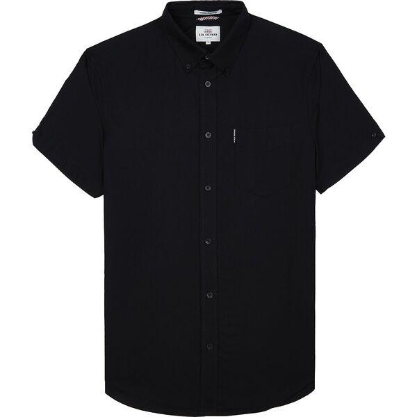OXFORD SHIRT, BARELY BLACK, hi-res