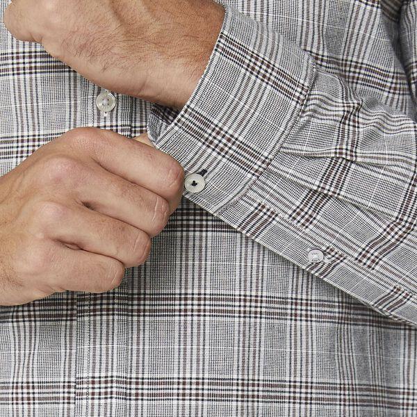 Prince Check Mod Ls Shirt Brown, BROWN, hi-res