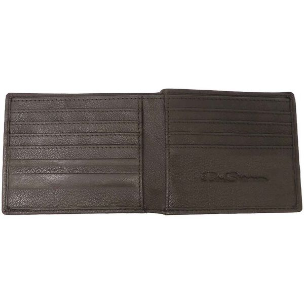 HOLTBY LEATHER WALLET, BROWN, hi-res