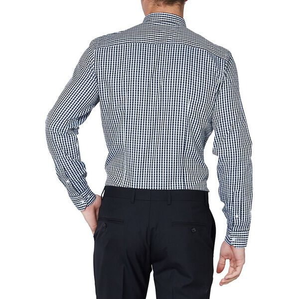 Mod Gingham Camden Shirt, STAPLES NAVY, hi-res