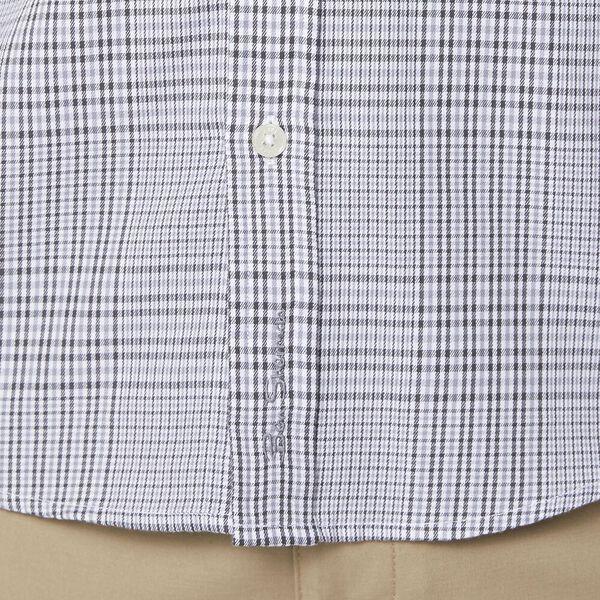 Dog Tooth Mod Ls Shirt Charcoal, CHARCOAL, hi-res