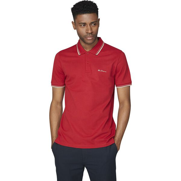 ROMFORD POLO RED