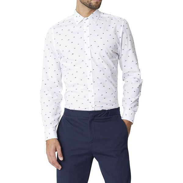 LS FORMAL CAMDEN SCATTERED FLORAL SHIRT