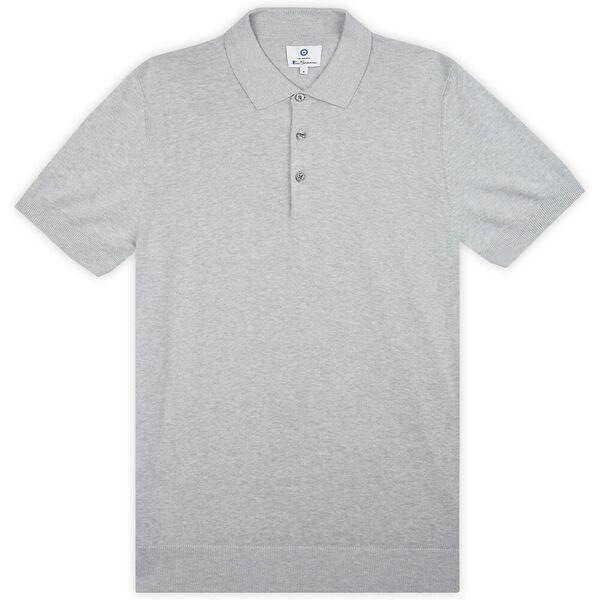 Signature Cotton Polo, GREY, hi-res