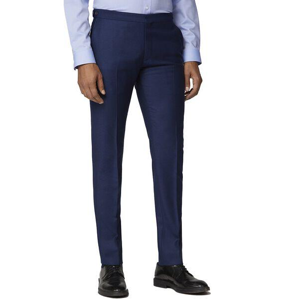 British Bright Blue Crepe Trouser Bright