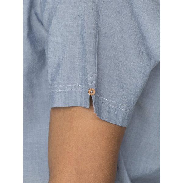 Ss Textured Mod Stripe Shirt, MIDNIGHT, hi-res