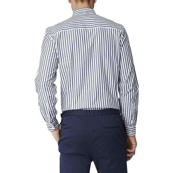 Ls Formal Camden Bengal Stripe Shirt Dar, DARK NAVY, hi-res