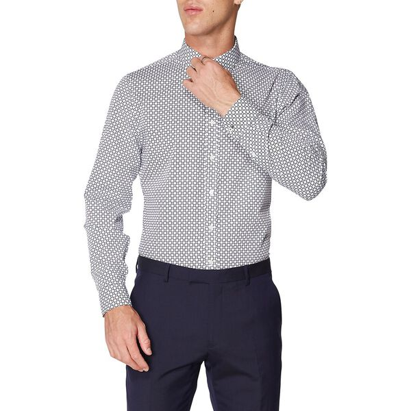 FORMAL CANE PRINT CAMDEN SHIRT