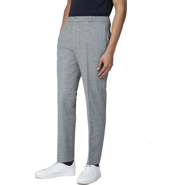 Light Grey Broken Check Trouser Light Gr