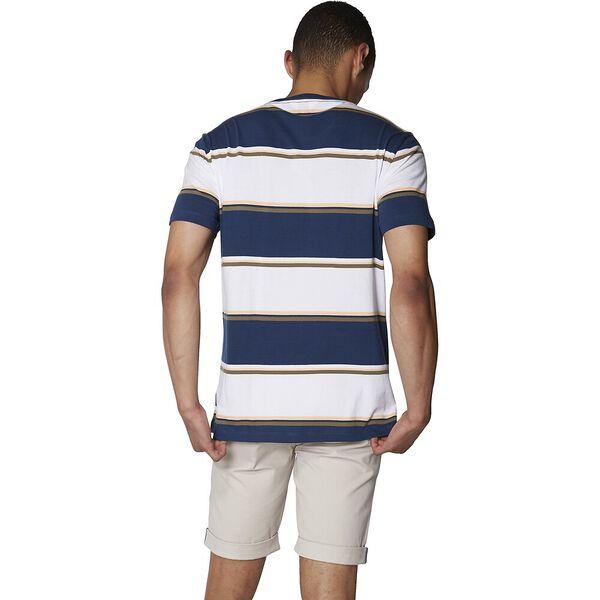 Bold Stripe T-Shirt, NAVY, hi-res