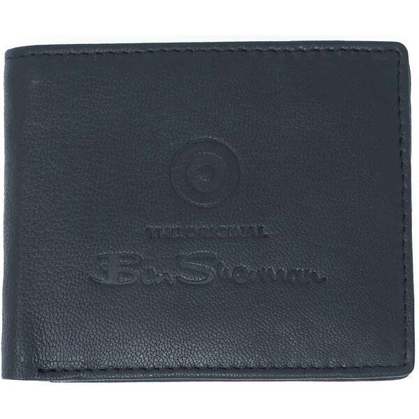 Dack Leather Wallet, BLACK, hi-res