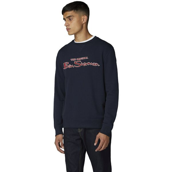 LOGO SWEAT NAVY