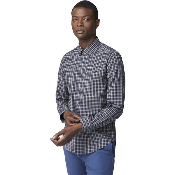 LS HOUSE GINGHAM ANTHRACITE