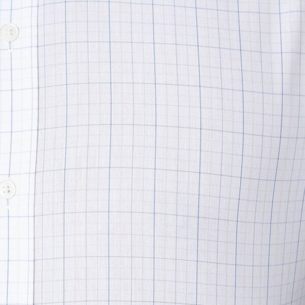 Ls Formal Kings Grid Check Shirt True Na, TRUE NAVY, hi-res