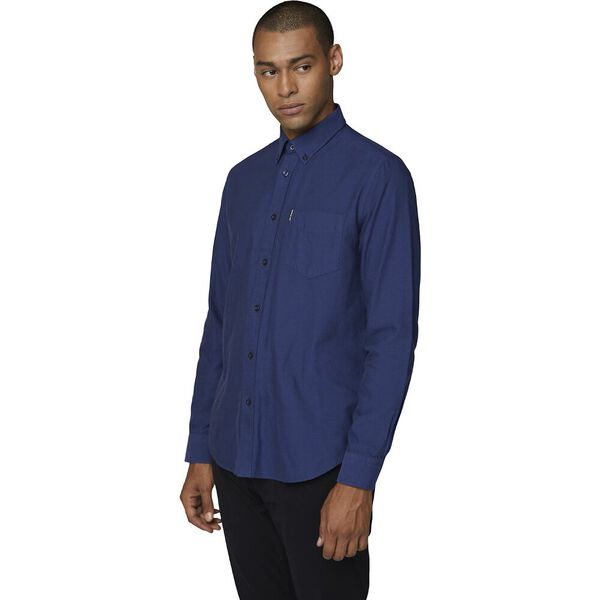 OXFORD SHIRT, COBALT, hi-res