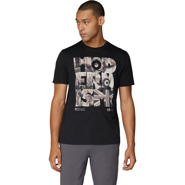 MODERNISM TEE BLACK, BLACK, hi-res