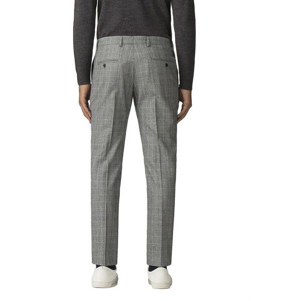 Grey Pow Mod Check Trouser, GREY, hi-res