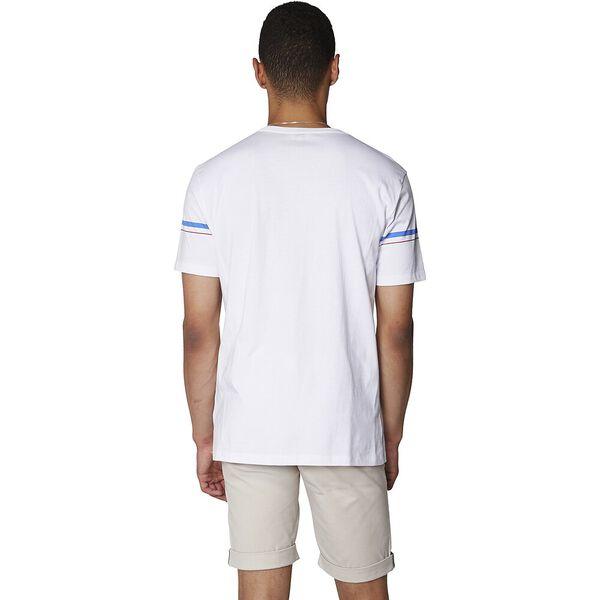 FINE LINE T-SHIRT, WHITE, hi-res