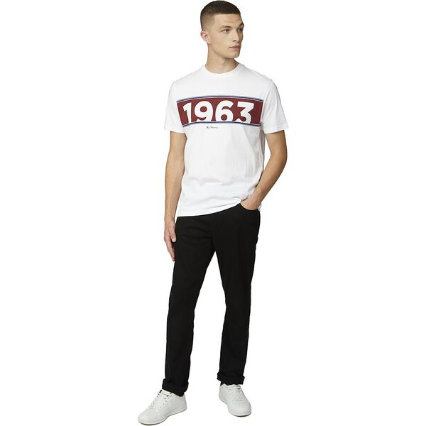 RETRO SPORT 1963 TEE, WHITE, hi-res