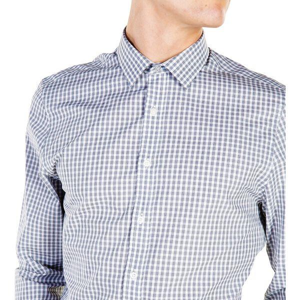 Formal Fil A Fil Check Camden Shirt, BLACK, hi-res