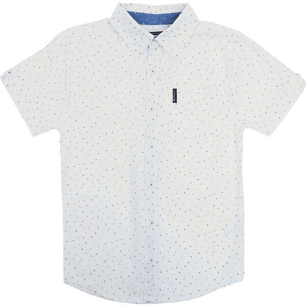 Kids Diamond Print Shirt