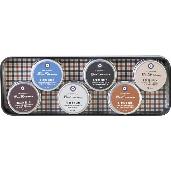 Beard Balm Set Navy, NAVY, hi-res