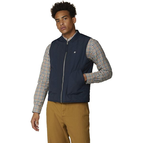 QUILTED GILET, MIDNIGHT, hi-res