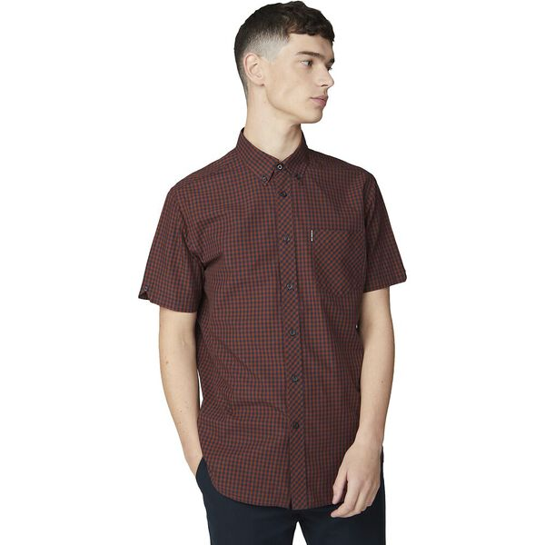 SS GINGHAM BROWN