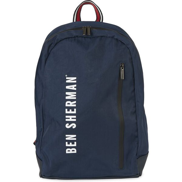 Nylon Backpack, NAVY, hi-res