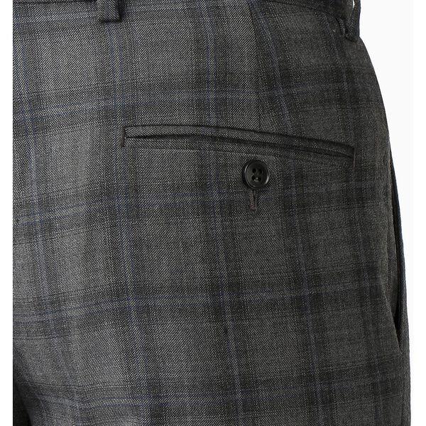 Cool Grey/Blue Check Trouser, GREY, hi-res