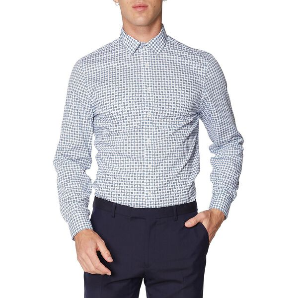 FORMAL TILE PRINT CAMDEN SHIRT