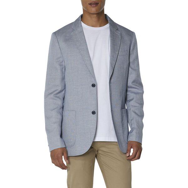 Textured Linen Blend Blazer