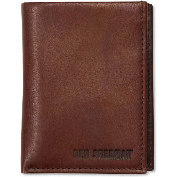 LEATHER RBIFOLD CC WALLET