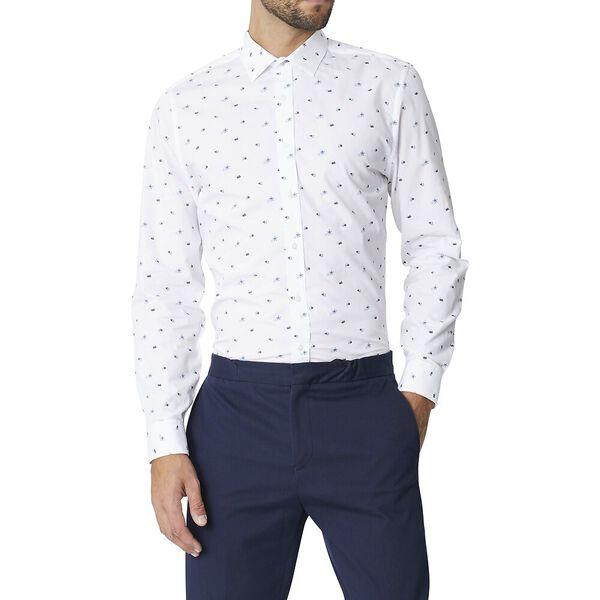 Ls Formal Camden Scattered Floral Shirt