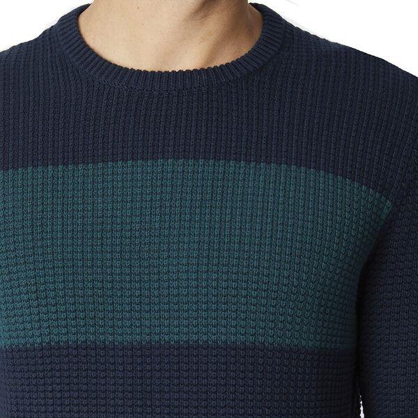 Herringbone Panel Knit Midnight, MIDNIGHT, hi-res