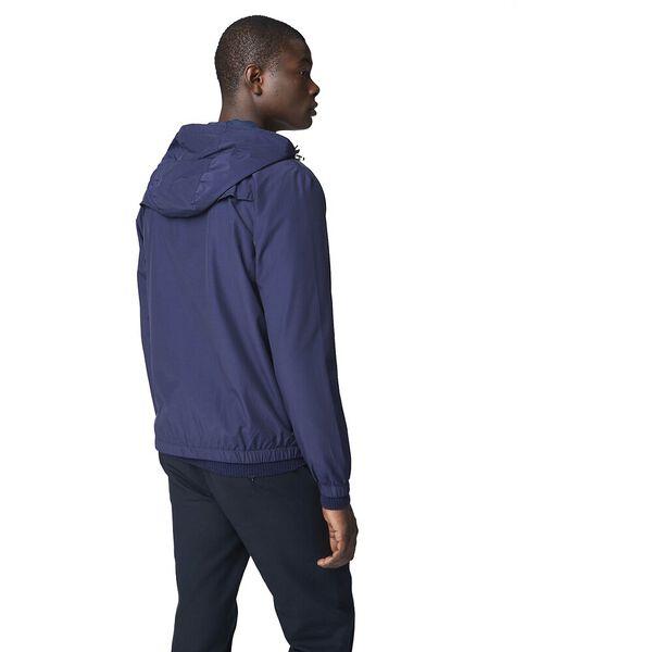 Hooded Jacket, NAVY, hi-res