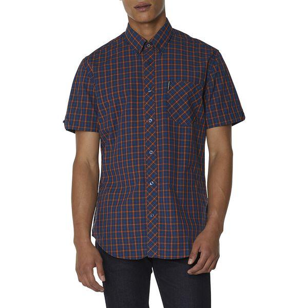 Ls House Check Shirt, BURNT ORANGE, hi-res