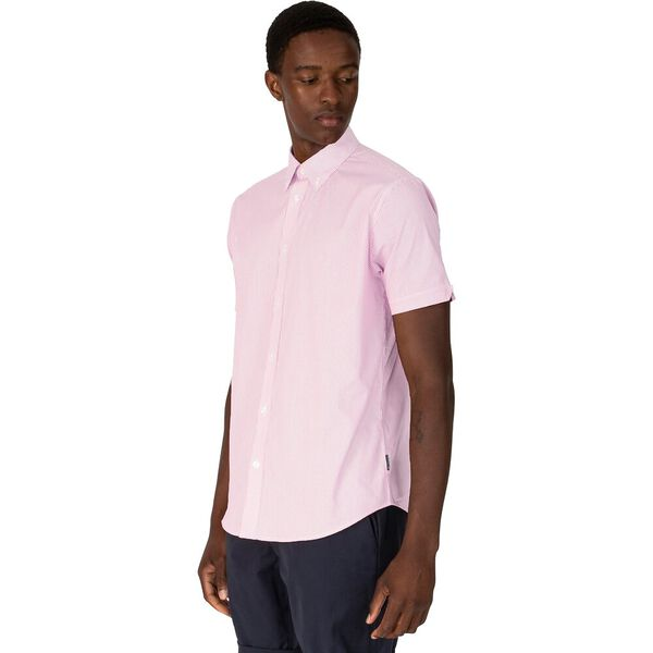 MOD MINI STRIPE SHIRT, PINK, hi-res