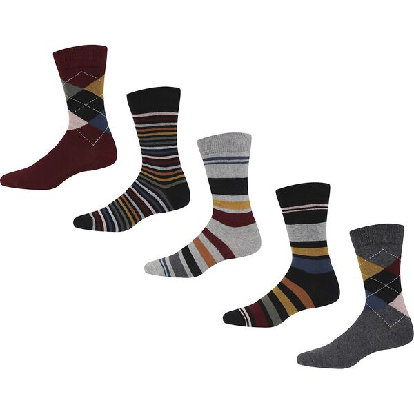 PERSIAN PUNCH 5 GIFT PACK SOCKS
