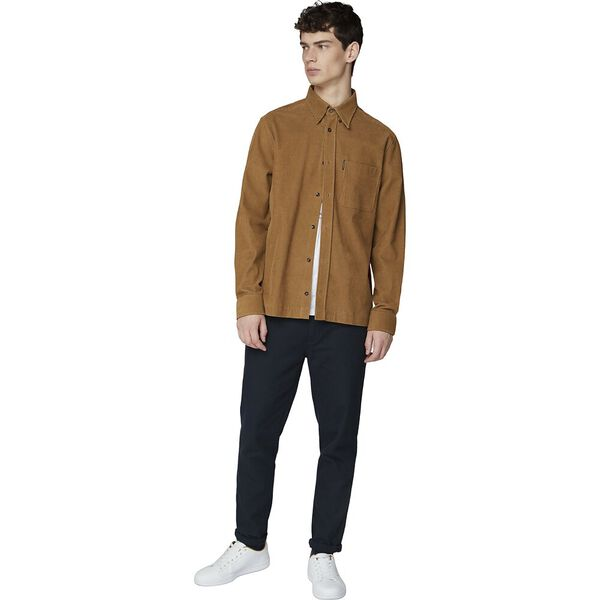 Ls Cord Overshirt Tan, TAN, hi-res