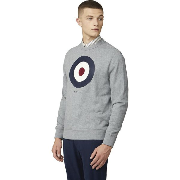 SIGNATURE TARGET SWEAT, STEEL, hi-res