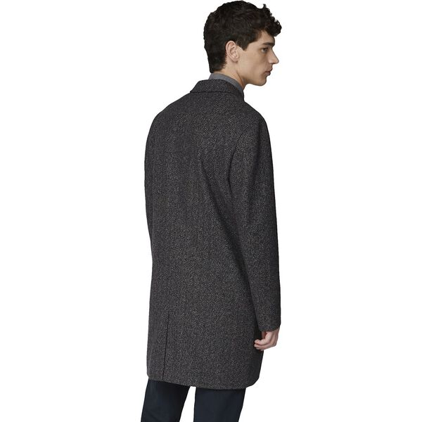 HERRINGBONE OVERCOAT COFFEE, COFFEE, hi-res