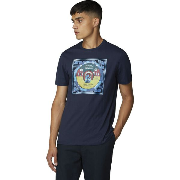 Record Centres Tee Dark Navy
