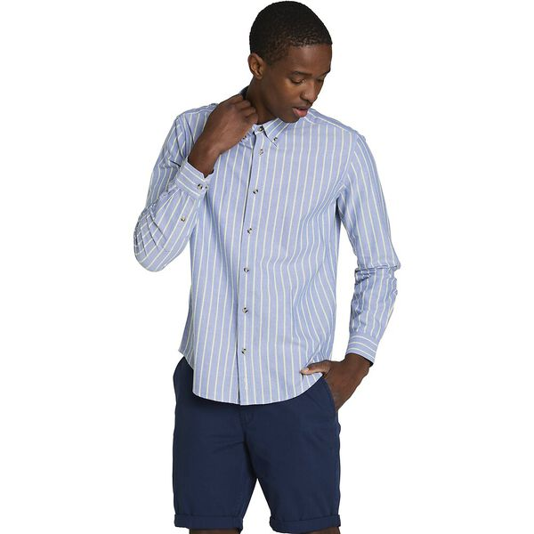 STRIPE OXFORD MOD SHIRT