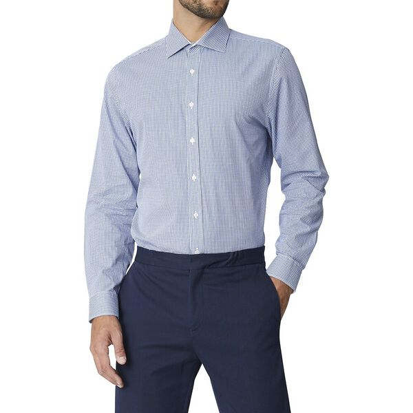 Ls Formal Kings Micro Gingham Shirt True