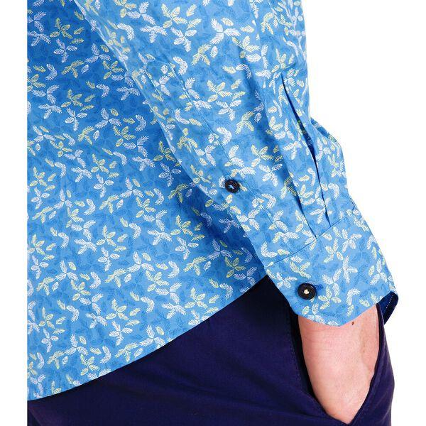LS SCATTER LEAF MOD SHIRT, PARISIAN BLUE, hi-res