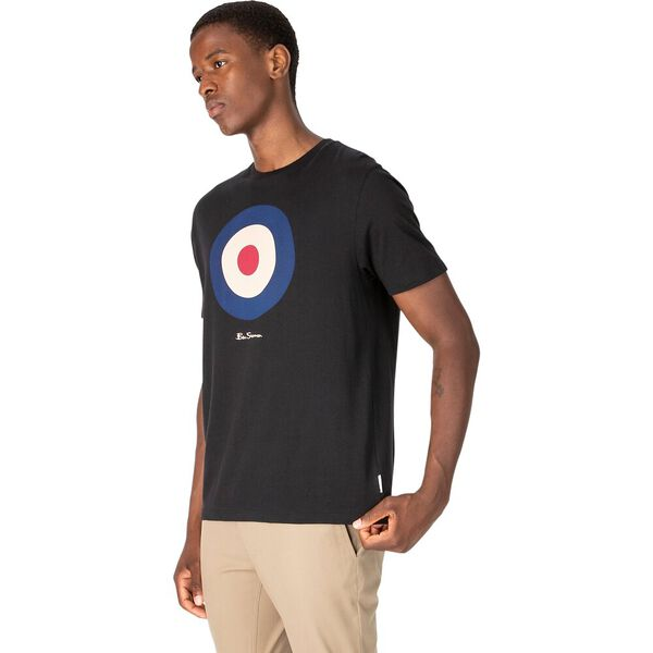 Target T-Shirt, BLACK, hi-res