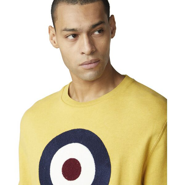 Boucle Target Sweatshirt Dijon, DIJON, hi-res