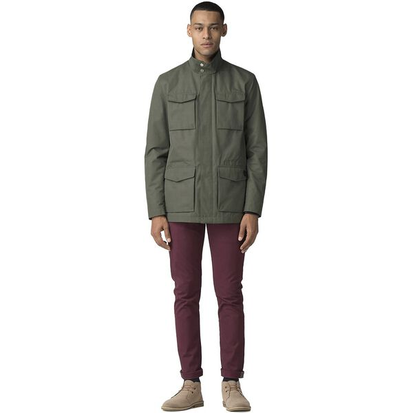 Four Pocket Jacket, DARK GREEN, hi-res