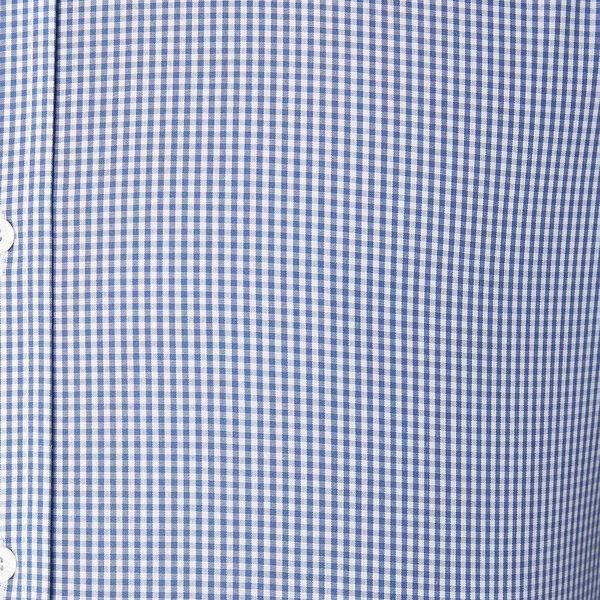 Ls Formal Kings Micro Gingham Shirt True, TRUE NAVY, hi-res